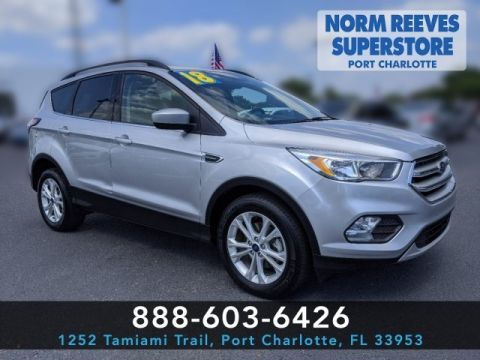 Pre-Owned 2018 Ford Escape SE FWD 4D Sport Utility